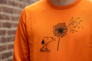 TSPTR Snoopy My Reality Sweatshirt - Orange