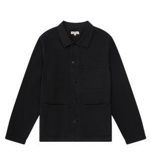 Knickerbocker Worker Coat - Black - Franklin & Poe