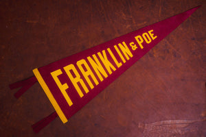 Oxford Pennant Philadelphia Capsule Collection - Franklin and Poe