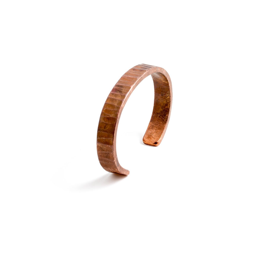 Studebaker Metals Bessemer Cuff - Copper Work Patina - Franklin & Poe