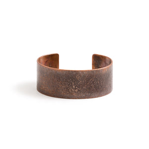 Studebaker Metals Broad Cuff - Work Patina Copper