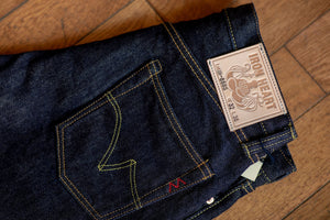 Iron Heart IH-888S-21 Indigo 21oz. Selvedge Denim - Tapered Cut - Franklin & Poe