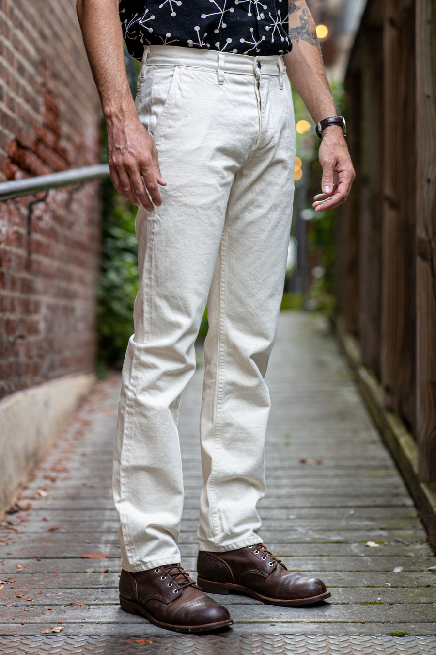 3sixteen Chino - Natural Denim