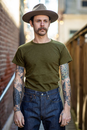 Mister Freedom Stanley T-Shirt - Jungle Green