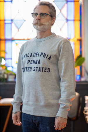 Philadelphia Fleece by Knickerbocker MFG - Heather Grey