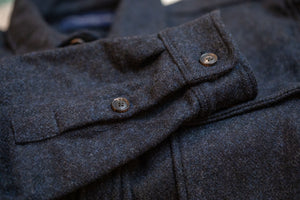 Freenote Cloth Gilroy - Black Indigo - Franklin & Poe
