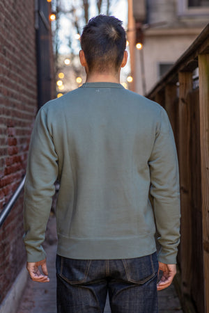Knickerbocker MFG Co. Crew Neck Fleece - Agave - Franklin & Poe