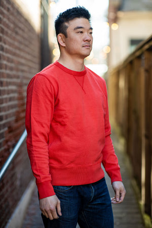Knickerbocker Gym Crew Fleece - Varsity Red