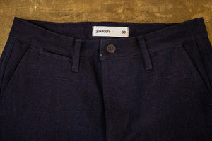 3sixteen Draw String Short - Indigo/Indigo Denim