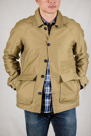 Rogue Territory Explorer Jacket - Khaki Jungle Cloth - Franklin & Poe