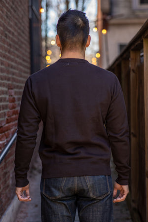 Knickerbocker MFG Co. Crew Neck Fleece - Black - Franklin & Poe