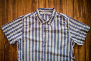3sixteen Vacation Shirt - Navy Stripe