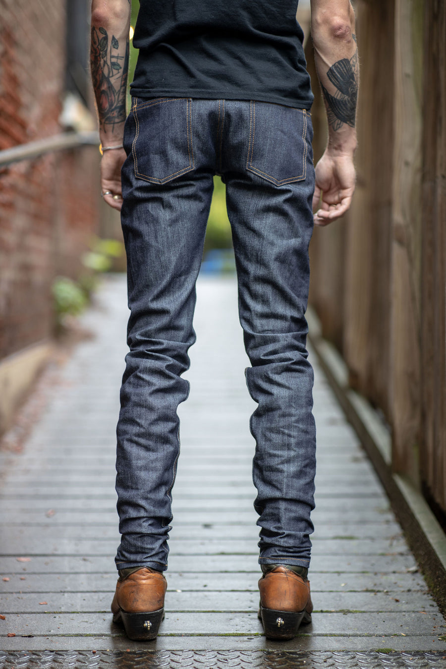 3sixteen NT-100x - Narrow Tapered Indigo Selvedge