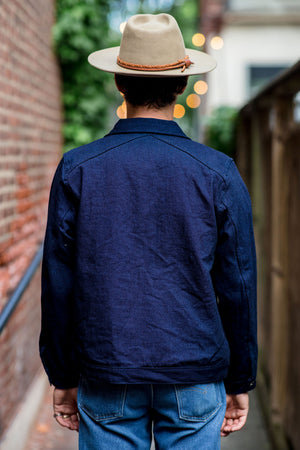 3sixteen Type 1 Jacket - Indigo/Indigo Denim