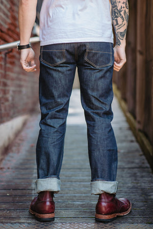 Tellason Blubaugh - 16.5 oz. Indigo Denim - Franklin & Poe