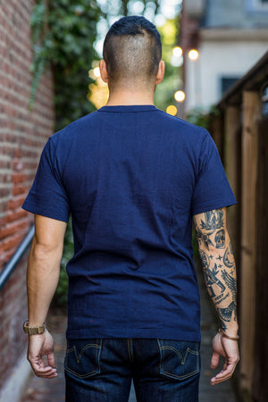 Iron Heart IHT-1610L Loopwheel T-shirt - Navy
