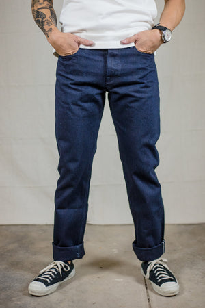 Freenote Cloth Portola Taper - Unsanforized Single Rinse 13.25oz. Japanese Denim - Franklin & Poe