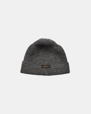 Dehen 1920  Wool Knit Watch Cap - Charcoal