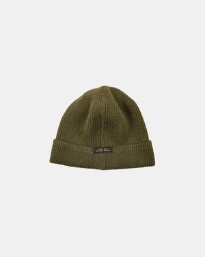 Dehen 1920  Wool Knit Watch Cap - Loden