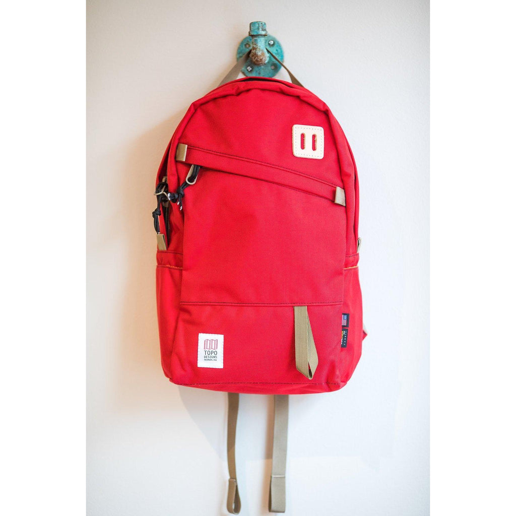 Topo Designs Day Pack - Red - Franklin & Poe