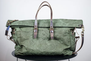 Bleu de Chauffe Cabine Travel Bag - Dark Khaki