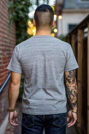 Iron Heart IHT-1610L Loopwheel T-shirt - Light Heather Grey