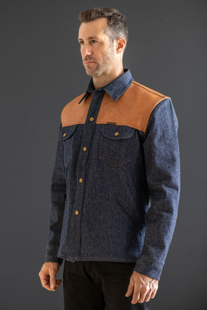 Indigofera Eagle Rising Jacket - Franklin & Poe