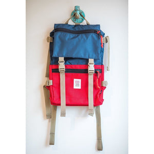 Topo Designs Rover - Navy/Red - Franklin & Poe