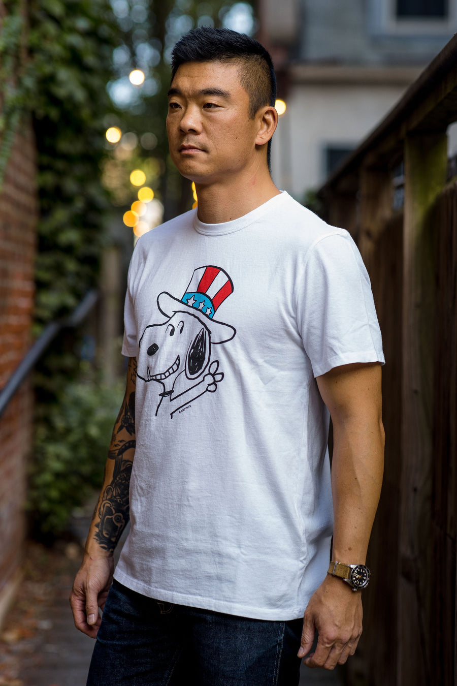 TSPTR Snoopy 2020 Tee - White