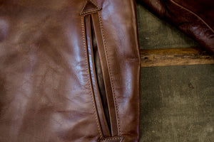 Freenote Cloth Locklin - Cognac Italian Steerhide