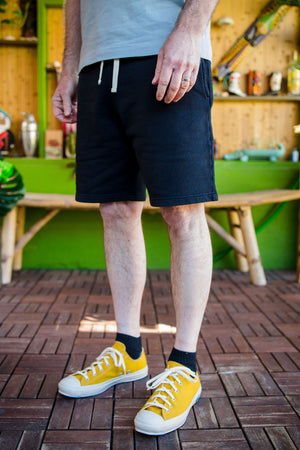 Merz b. Schwanen SPS01 Sweat Shorts - Black