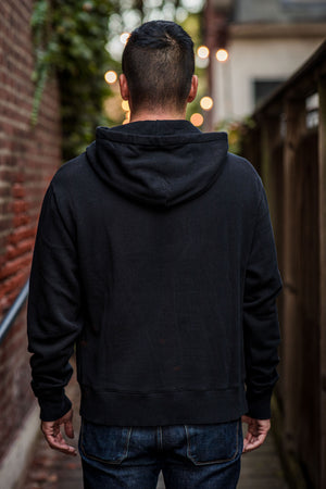Merz b. Schwanen LYDH02 Good Basics Men's Hoodie - Deep Black