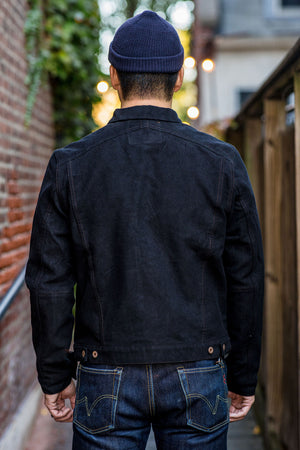 Indigofera Parsons Lodge Jacket - Heavy Moleskin Black
