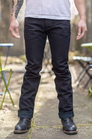 Iron Heart IH-777S-142od Overdyed Indigo New 14 oz. Selvedge Denim - Super Slim Tapered Cut