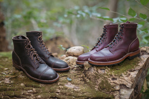 White's Boots x Franklin & Poe MP Service Boot (F&P Serial No. 18-001) - Burgundy Chromexcel - Franklin & Poe