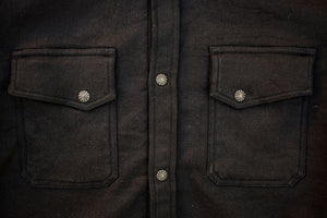 3sixteen Crosscut Western - Black Knit