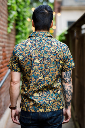 3sixteen Floral Leisure Shirt - Black