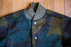 Eat Dust Field Jacket - Wool Camo