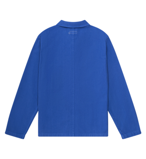 Knickerbocker Worker Coat - French Blue - Franklin & Poe