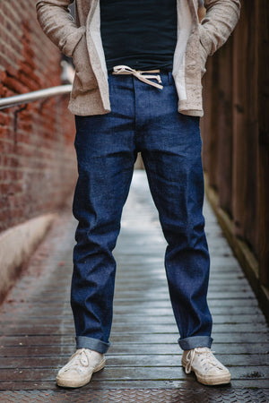 Rogue Territory Boarder Pant - Neppy Denim - Franklin & Poe