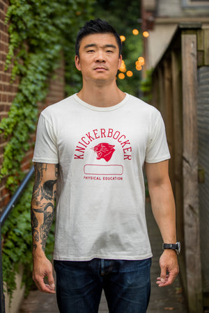 Knickerbocker MFG Co. Phys Ed. Tube Tee - Red - Franklin & Poe