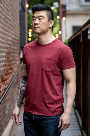 Indigofera Wilson T-Shirt - Guajillo Red