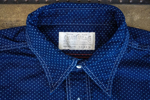 Sugar Cane Fiction Romance 4.5 oz. Polka Dot Work Shirt