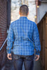 Rogue Territory BM Work Shirt - Indigo Plaid - Franklin & Poe