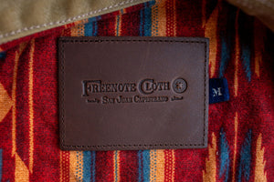 Freenote Cloth Waxed Riders Jacket - Tobacco