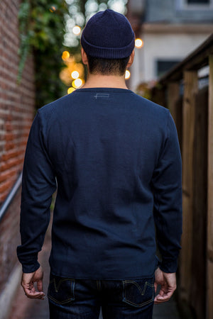 Knickerbocker Heavyweight LS Layer - Dark Navy