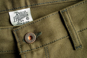 Railcar Fine Goods Flight Trouser - Seaweed Green
