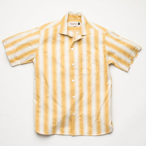 Freenote Cloth Hawaiian - Yellow Stripe