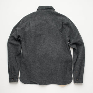 Freenote Cloth Benson - Charcoal Herringbone