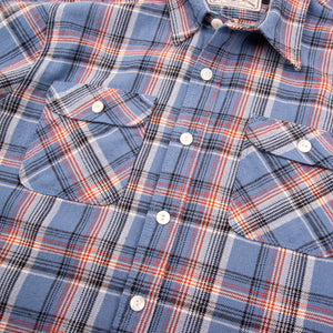 Freenote Cloth Jepson - Blue Plaid